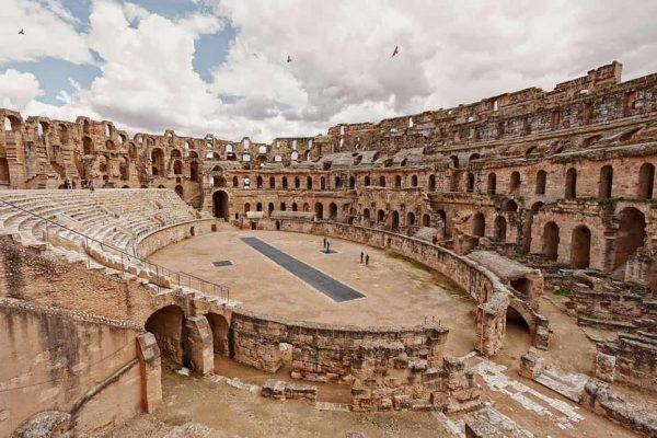 Amphitheatre-of-El-Djem